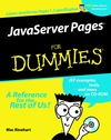JavaServer Pages For Dummies® (0764515446) cover image