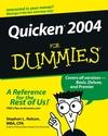 Quicken 2004 For Dummies (0764542346) cover image