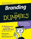 Branding For Dummies (1118052846) cover image