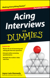 Acing Interviews For Dummies, Portable Edition