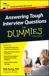 Answering Tough Interview Questions For Dummies - UK, 2nd UK Edition