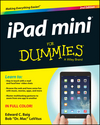 iPad mini For Dummies, 2nd Edition (1118727746) cover image