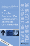 From the Confucian Way to Collaborative Knowledge Co-Construction: New Directions for Teaching and Learning, Number 142 (1119108446) cover image