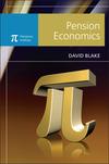Pension Economics (0470058447) cover image