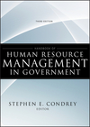 Handbook of Human Resource Management in Government, 3rd Edition (0470484047) cover image