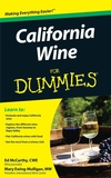 California Wine For Dummies (0470506547) cover image