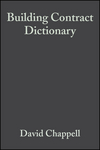 Building Contract Dictionary, 3rd Edition (0632039647) cover image