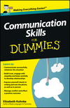 Communication Skills For Dummies, UK Edition (1118401247) cover image