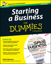 Starting a Business For Dummies, 4th UK Edition (1118837347) cover image