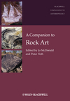 A Companion to Rock Art (1444334247) cover image