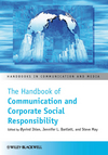 The Handbook of Communication and Corporate Social Responsibility (1444336347) cover image