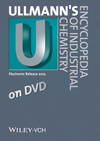Ullmann's Encyclopedia of Industrial Chemistry: DVD Edition 2015 (3527337547) cover image