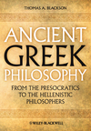 Ancient Greek Philosophy: From the Presocratics to the Hellenistic Philosophers (EHEP002247) cover image