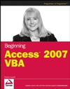 Beginning Access 2007 VBA (0470046848) cover image