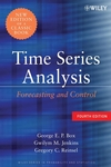 thumbnail image: Time Series Analysis: Forecasting and Control, 4th Edition