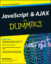 JavaScript and AJAX For Dummies (0470590548) cover image