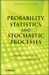 thumbnail image: Probability, Statistics, and Stochastic Processes, 2nd Edition