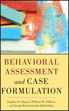 Behavioral Assessment and Case Formulation (1118018648) cover image