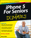 iPhone 5 For Seniors For Dummies, 2nd Edition (1118417348) cover image