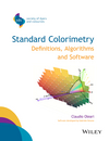 thumbnail image: Standard Colorimetry Definitions Algorithms and Software