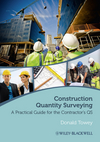 Construction Quantity Surveying: A Practical Guide for the Contractor's QS (1119028248) cover image