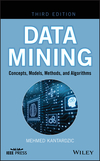 Data Mining: Concepts, Models, Methods, and Algorithms, 3rd Edition (1119516048) cover image