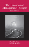The Evolution of Management Thought, 6th Edition (EHEP000148) cover image