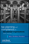 Tax Planning and Compliance for Tax-Exempt Organizations: Rules, Checklists, Procedures, 5th Edition (0470903449) cover image