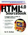 HTML 4.0 Sourcebook (0471257249) cover image
