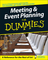 Meeting and Event Planning For Dummies (1118053249) cover image