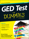 GED Test For Dummies, 3rd Edition (1118678249) cover image