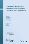 Processing, Properties, and Design of Advanced Ceramics and Composites, Volume 259 (1119323649) cover image