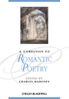 A Companion to Romantic Poetry (1405135549) cover image
