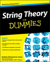 String Theory For Dummies (047046724X) cover image
