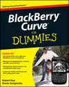 BlackBerry Curve For Dummies (047058744X) cover image