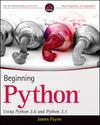 Beginning Python: Using Python 2.6 and Python 3.1 (047062664X) cover image