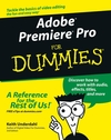 Adobe Premiere Pro For Dummies (076454344X) cover image