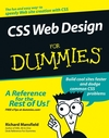 CSS Web Design For Dummies (076459754X) cover image