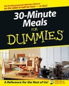 30-Minute Meals For Dummies (111806884X) cover image