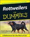 Rottweilers For Dummies (111806934X) cover image