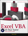 Excel VBA 24-Hour Trainer (111808764X) cover image