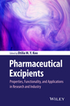thumbnail image: Pharmaceutical Excipients: Properties, Functionality, and Applications in Research and Industry