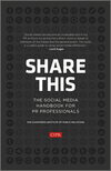Share This: The Social Media Handbook for PR Professionals (111840484X) cover image