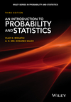 thumbnail image: An Introduction to Probability and Statistics, 3rd Edition