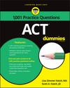 1,001 ACT Practice Problems For Dummies (111927544X) cover image