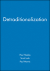 Detraditionalization (155786554X) cover image