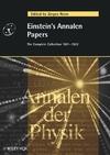 Einstein's Annalen Papers (352740564X) cover image