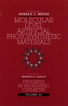 Molecular Level Artificial Photosynthetic Materials, Volume 44 (0471125350) cover image