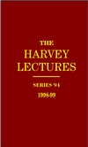 The Harvey Lectures Series 94, 1998-1999 (0471401250) cover image