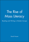 The Rise of Mass Literacy: Reading and Writing in Modern Europe (0745614450) cover image